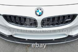 For 15-20 BMW F80 M3 F82 F83 M4 CARBON FIBER Front Bumper Lower Lip Splitter