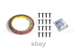 For 15-20 BMW F80 M3 F82 F83 M4 CS Style CARBON FIBER Front Lower Lip Splitter