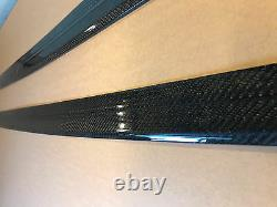 For BMW F10 F11 Carbon Performance M5 SIDE SKIRTS SILL COVERS Sport Blades Pair
