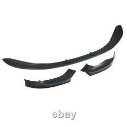 For Bmw 1 Series F20 F21 Front Diffuser Splitter Lip M Performance Carbon Look