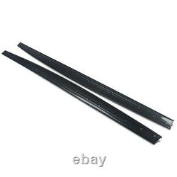 For Bmw 4 Series F32 F33 Side Skirt Extension Blades M Performance Carbon Style