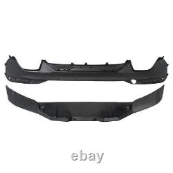 For Bmw 5 Series G30 G31 M Sport M Performance Rear Bumper Diffuser Black Carbon