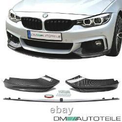 Frontspoiler Splitter Sport-Performance Carbon fits on BMW F32 F33 F36 M-Sport