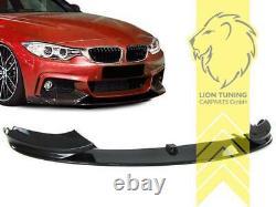 Frontspoiler Spoilerlippe Spoiler für BMW F32 Coupe F33 für M-Paket Carbon Optik