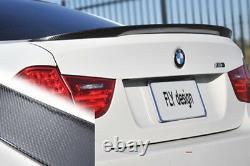 Für BMW E90 Performance Tuning Spoiler CARBON Heck Flügel Flap Splitter Kofferra