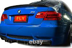 Für BMW coupe e92 performance Carbon Heckspoiler festes ABS aerodynamisch