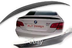 Für BMW e93 cabrio performance spoiler Carbon heckspoiler becquet levre trunk