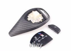 Genuine BMW M Performance Carbon Sport Auto Gear Selector Trim 61312250698 LLOYD