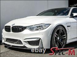 M Performance Front Bumper Carbon Fiber Splitter Lip For 15-Up BMW F80 M3 F82 M4