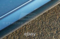 M-Sport EXTENDED Style CARBON FIBER Side Skirts For 12-18 BMW F30 F31 3-Series