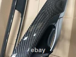 ORIGINAL BMW X6M X6 F16 PERFORMANCE CARBON Leisten Zierleisten Alcantara