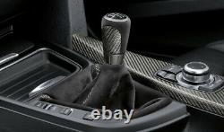 Original BMW F30 F31 F32 F33 F36 M Performance Schaltknauf Carbon Alcantara Balg