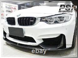 Performance Carbon Fiber Front Bumper Add-On Lip fit BMW F82 M4 F80 M3 2015-2019