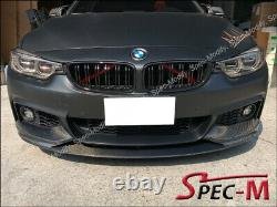 Performance Carbon Fiber Front Lip For BMW F32 435i Coupe with M Sport Bumper