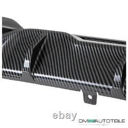 Performance Diffusor Schwarz Carbon passt für BMW 3er G20 G21 M340i mit M-Paket
