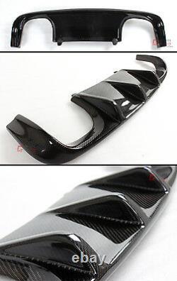 Performance V Style Carbon Fiber Rear Bumper Diffuser For Bmw E92/e93 M3 Coupe