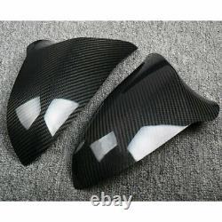 Real Carbon Fiber M-Performance Mirror add-on Cover For BMW M3 F80 M4 F82 F83RHD