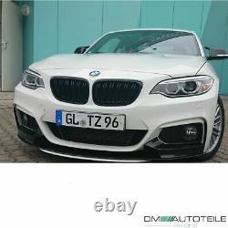 Sport-Performance Carbon Glanz Frontspoiler Spoiler für BMW F22 F23 M-Paket +ABE