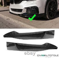 Sport-Performance Frontspoiler Flaps Carbon Glanz passt für BMW G30 G31 M + ABE