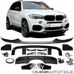 Sport-Performance SET Aero Spoiler Kit Carbon Gloss fits on BMW X5 F15 M-Sport
