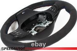 TUNING X3 E83 X5 E53 ABGEFLACHT ALCANTARA Lederlenkrad für BMW X5 BLENDE CARBON