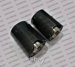 UKCARBON BMW M Performance Carbon Fibre Exhaust Tips BMW M135i M140i M235i M240i