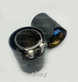 UKCARBON M Performance Carbon Fibre Exhaust Tips for BMW M135i M140i M235i M240i